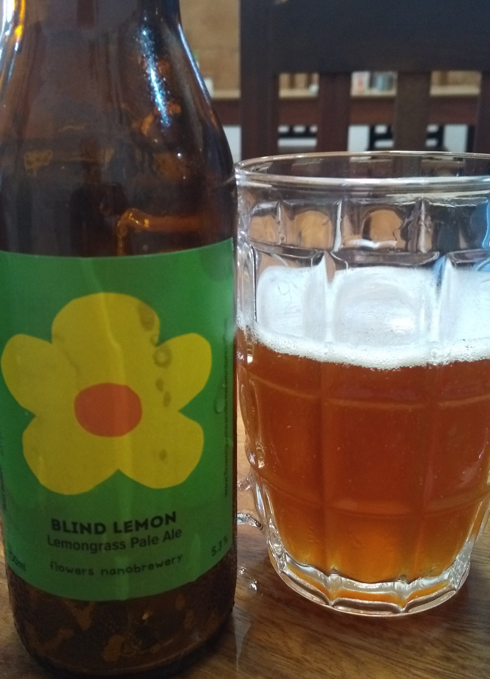 Blind Lemon Lemongrass Pale Ale Cambodian Craft Beer Review