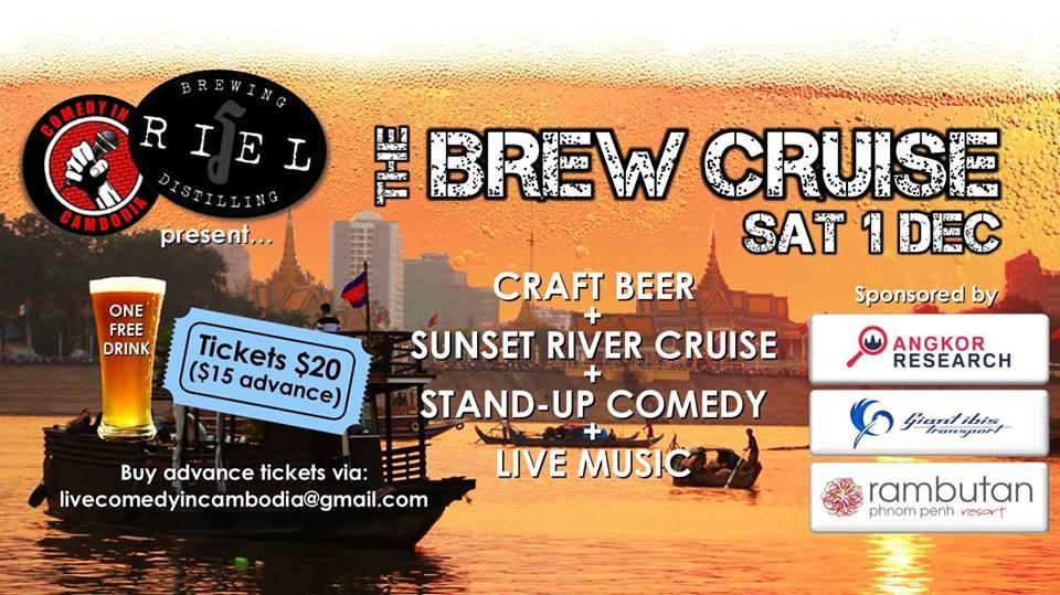 The Brew Cruise Phnom Penh