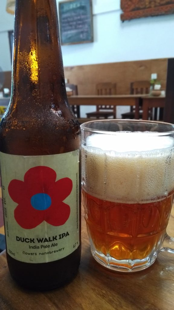 Duck Walk IPA from Flowers Nanobrewery