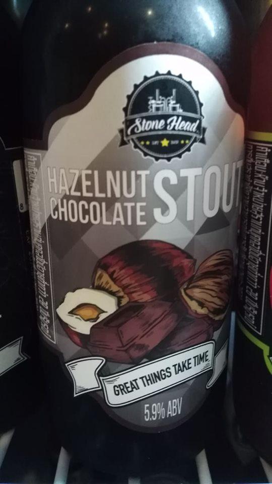 Hazelnut Chocolate Stout from Stone Head