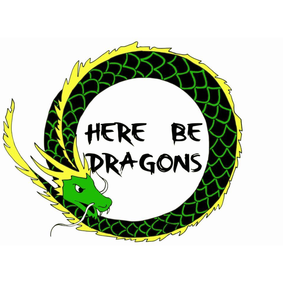 Here be dragons hostel Battambang