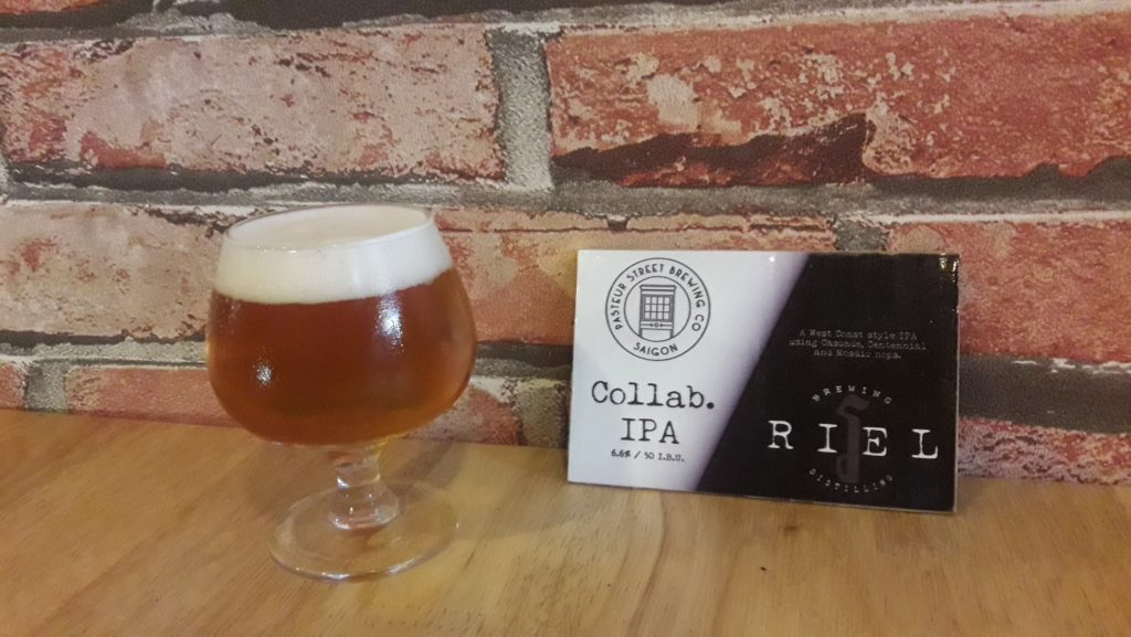 Riel and Pasteur Street Collaboration beer