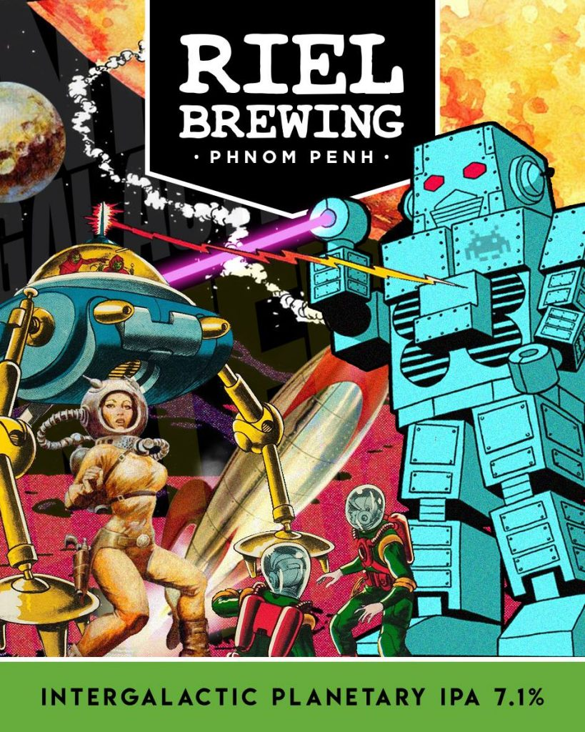 Intergalactic Planetary Ale from Riel Brewing